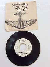 "Merle Kilgore ""Nevada Smith"" w/ Steve McQueen 45 PS Record Epic 5-10049 Promo NM"