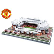 3D Manchester United Old Trafford Replica Stade de Football 186PC Puzzle cadeau nouveau