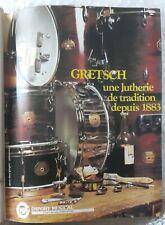 Publicité advert advertising BATTERIE GRETSCH 1978