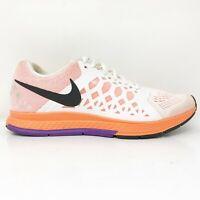 Nike Womens Air Zoom Pegasus 31 654486-102 Orange Running Shoes Lace Up Size 8.5