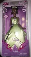 "NEW DISNEY STORE PRINCESS TIANA and the FROG 12"" Poseable DOLL Sparkle"