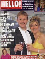 TEDDY SHERINGHAM UK Hello Magazine 3/21/00 DONALD MELANIA TRUMP 7PGS PC