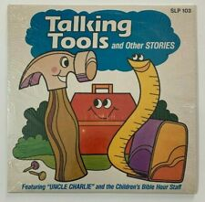Uncle Charlie Talking Tools Children's Bible Hour Staff LP Vinyl Record 1984 VG+