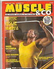 Muscle & Co. bodybuilding magazine/Martin Alamango/Lee Haney 2-86  (UK)