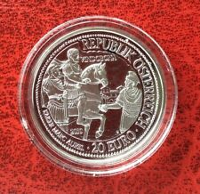 Autriche - Magnifique monnaie de 20 euro 2010  Proof - Vindobona Marcus Aurelius