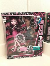 Monster High dolls 2-pack MUSIC FESTIVAL DRACULAURA and CLAWD WOLF mib EXCLUSIVE