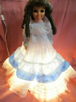 Southern Belle Crissy Doll Lamp Ideal Custom Made