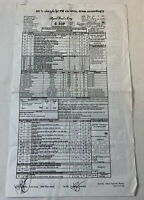 2007 APRIL FOOL'S DAY original horror movie CALL SHEET plus location map