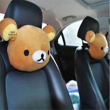 San-X Rilakkuma Relax Bear Car Seat Head Rest Cushion Neck Pillow 1PC♫