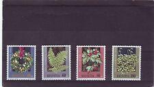 Switzerland Nature & Plants Postal Stamps