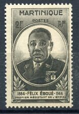 STAMP / TIMBRES COLONIES FRANCAISES NEUF MARTINIQUE GOUVERNEUR EBOUE N° 218 **