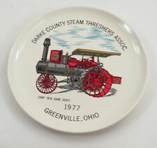 1977 Darke County Greenville Ohio Steam Threshers Plate 22HP 1910 Gaar Scott
