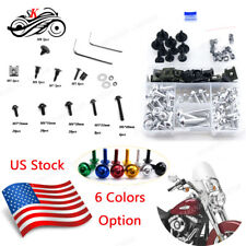 Full Set Motorcycle Fairing Bolt Kit Fasteners for Triumph Daytona 600 2002-2004