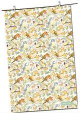 """Emma Ball """"Garden Bird & Honeysuckle"""", Pure cotton tea towel. Printed in the UK."""