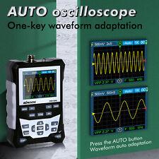 Digital Lcd Handheld Oscilloscope 120mhz Bandwidth 500msas Sampling Rate R1r2