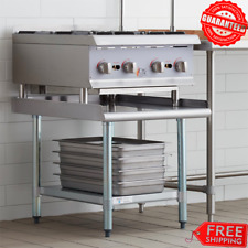 """30"""" x 24"""" Stainless Steel Table Commercial Kitchen Heavy Equipment Stand Storage"""