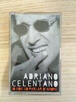 Adriano Celentano - Io non so parlar d'Amore - MC K7 Musicassetta - 1999 Clan