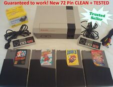 Nintendo NES REFURBISHED Console System Games Super Mario 1 2 3 Double Dragon
