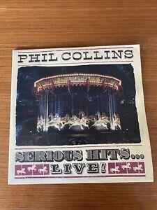 """Phil Collins """" Serius Hits """" Doppio Vinile Lp Live"""