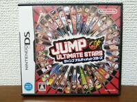 USED Jump Ultimate Stars JAPAN Import Nintendo DS