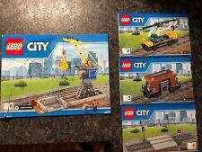 Lego 60098 Heavy Haul Train instruction manuals / books