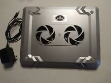 """Gear Head Notebook Laptop Cooling Pad  12.25"""" x 9.5"""" Veey Quiet Works Great"""