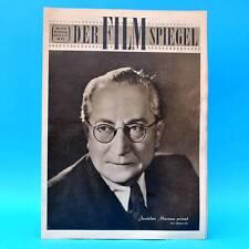 DDR Filmspiegel 6/1956 Fernandel Jaroslav Marvan Erich Nitzschmann B Waterstradt