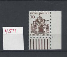 Bund Eckrand   Formnummer FN 0  postfrisch Michel Nr 454