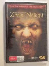 Zombie Nation DVD Feat Brandon Dean Strong Horror BRAND NEW