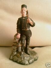 Vintage German match holder striker figurine