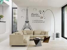 Paris Home Decor Removable Wall Sticker/Decal/Decoration