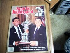 Sports Illustrated 1987 Reagan / Connor Cover