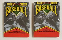 1993 OPC O-Pee-Chee Canada Baseball Cards Lot of 2 (Two) Sealed Unopened Packs