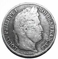 1841 B France Five 5 Francs - Louis-Philippe I - Lot 35