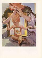 "1976 Vintage SALVADOR DALI ""MADONNA OF PORT LLIGAT"" COLOR Art Print Lithograph"