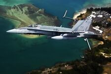 New 5x7 Photo: Canadian McDonnell Douglas CF-18 Hornet at Pearl Harbor, Hawaii