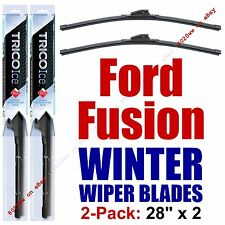 2013-2017 Ford Fusion WINTER Wipers 2-Pack Super-Premium Beam Blades - 35280x2