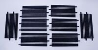 SCX Compact 1/43 Lot of 8 Med Straight Track Pieces 228mm SC-01-005