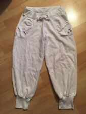 PRIMARK SIZE 8 CROPPED JOGGING BOTTOMS WORKOUT GYM TROUSERS