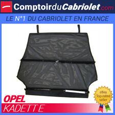 Filet anti-remous coupe-vent, Windschott, Opel Kadett E cabriolet - TUV