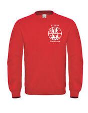 Bomberos Estampado Sudadera, B&c Suéter de Cuello Redondo Sudadera Camisetas con
