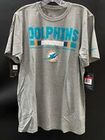 MIAMI DOLPHINS TEAM ISSUED ON FIELD DRI-FIT SHORT SLEEVE SHIRT NEW W/TAGS LARGE