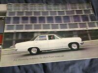 1966 Vauxhall Viscount Color Sales Catalog Brochure Prospekt