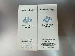 Crabtree & Evelyn NANTUCKET BRIAR ultra-moisturising hand therapy 3.5 OZ - NIB