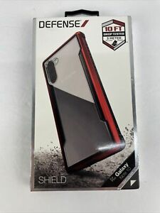 Defense Shield Galaxy Note 10 Case, Drop Tested Anodized Aluminum, Red