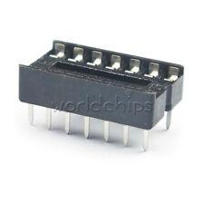 20PCS 14 Pin DIP14 Integrated Circuit IC Sockets Adaptor Solder Type