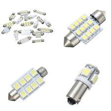 12V Auto Car Interior LED Light Kit White 6000K Dome Reading License Plate Lamp