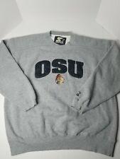 Starter OSU Oregon State Beavers Men's Gray Sweater Size XL Free Shipping