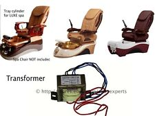 Transformer Power Converter Luxe Chocolate Cloud 9 pedicure massage spa chair