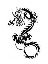 dragon stencil for Airbrush Tattoo craft Art 518